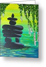 Zen Time Greeting Card