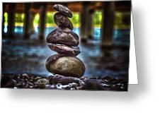 Zen Under The Dock Greeting Card