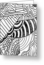 Zendoodle Design Greeting Card