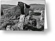 Zennor Quoit 2 Greeting Card