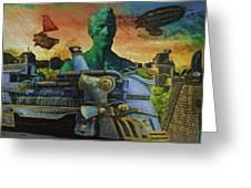 Abe City Zephyr Greeting Card