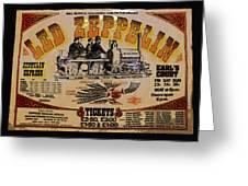 Zeppelin Express Greeting Card