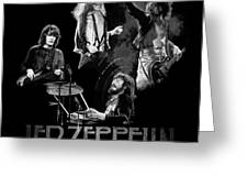 Zeppelin Greeting Card by William Walts