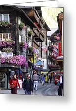 Zermat Switzerland Greeting Card