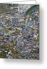 Zermatt From Klein Matterhorn Greeting Card