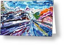 Zermatt Or Cervinia Greeting Card