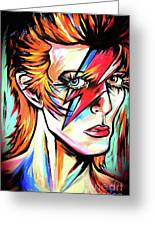 Ziggy Stardust Greeting Card