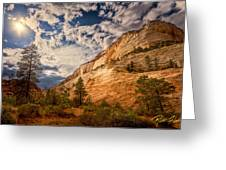Zion Afternoon Greeting Card