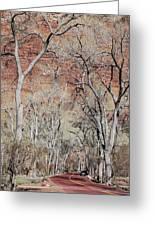 Zion At Kayenta Trail Greeting Card