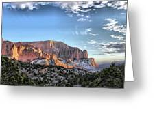 Zion At Sunset #3 Greeting Card