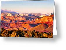 Zion At Sunset Greeting Card