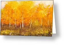 Zion Autumn Greeting Card