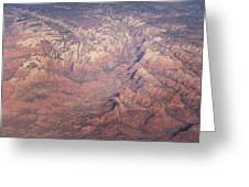 Zion From The Air Greeting Card