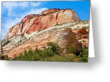 Zion Hike 1 View 2 Greeting Card