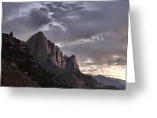 Zion Mountain #2 Greeting Card