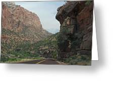 Zion National Park 4 Greeting Card