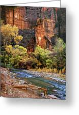 Zion National Park 57 Greeting Card