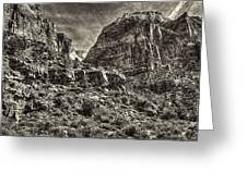 Zion National Park II Greeting Card