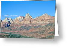 Zion National Park, Valley View Greeting Card