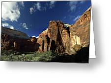 Zion Panorama Greeting Card