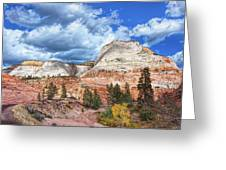 Zion  Promontories Greeting Card