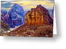 Zion View Greeting Card