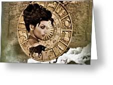 Zodiac Signs - Taurus Greeting Card