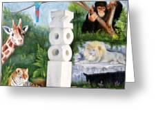 Zoo Greeting Card