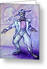 Zoot Suit Greeting Card