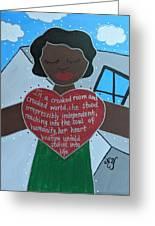 Zora Neale Hurston Greeting Card