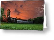 Zrinskis' Castle 2 Greeting Card by Davor Zerjav