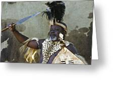 Zulu Pride Greeting Card