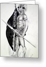 Zulu Roarkes Drift Greeting Card