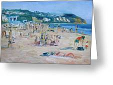 Zuma Beach Greeting Card