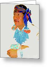 Zuni Indian Greeting Card