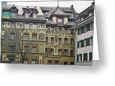 Zurich Switzerland Greeting Card