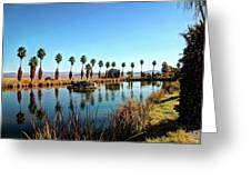 Zyzzx Lake Greeting Card