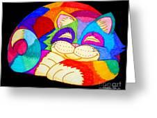 Zzzzzzzzzzzz Cat Greeting Card