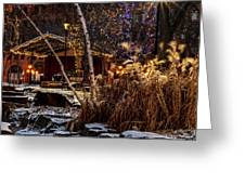 033 - Mears In Winter Greeting Card