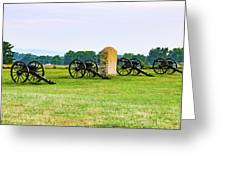 4th United States Artillery Greeting Card