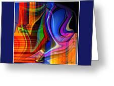 Abstract #35 Greeting Card