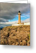 Ardnamurchan Point Lighthouse In Portrait Format. Greeting Card