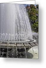 Arthur J. Will Memorial Fountain At Grand Park Greeting Card