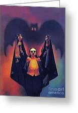 Bela Lugosi As Dracula Greeting Card