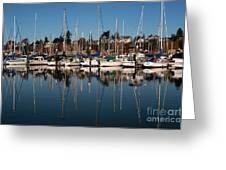 Bellingham Bay Marina  Greeting Card