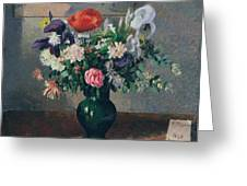 Bouquet Of Flowers, 1898 Greeting Card