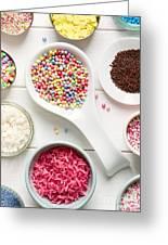 Candy Sprinkles Greeting Card