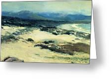 Carmel Shore 1919  Greeting Card