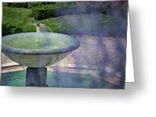 Castel Fountain Greeting Card