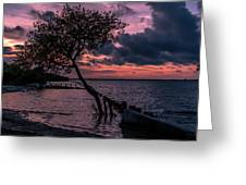 Cool Autumn Evening Greeting Card